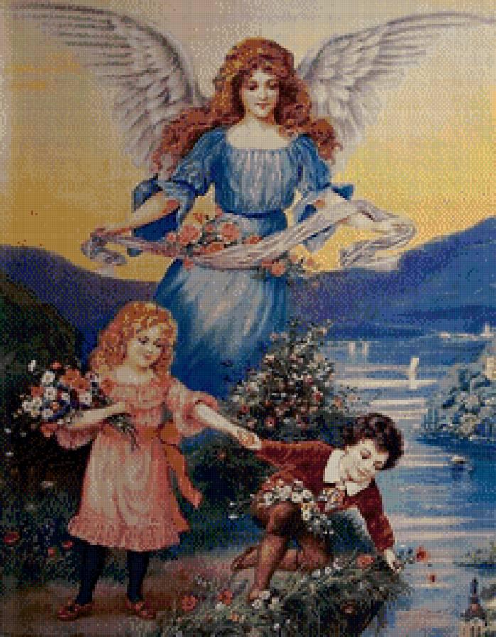 Ангел Хранитель., дети, ангел