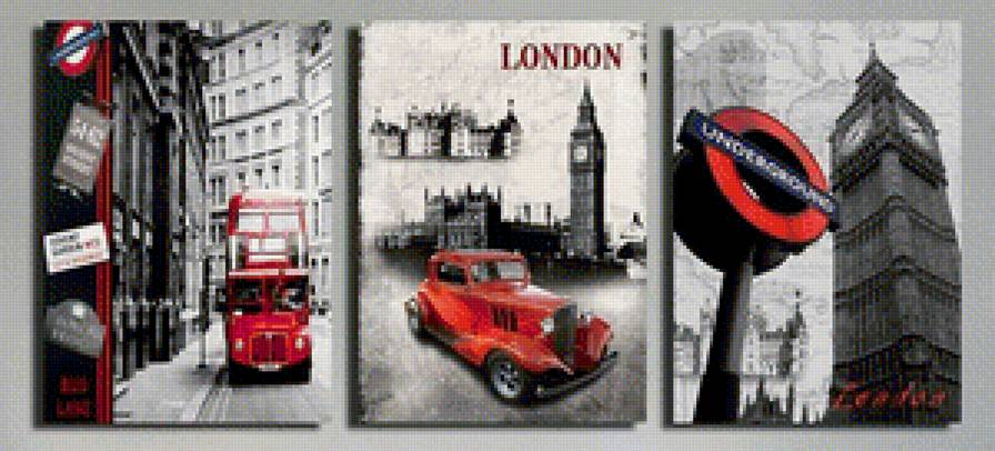 Лондон схема для вышивки 69
